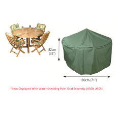 P015 4 Seater Circular Patio Set Cover